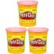 (3 Pack) PEACH (23861) Hasbro Play-Doh 5 oz. (15 oz. total)