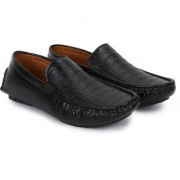 BUWCH casual black loafer moccasin shoe for men Loafers For Men