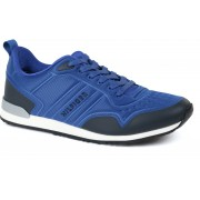 Tommy Hilfiger Sneaker Monaco Runner - Blau 46