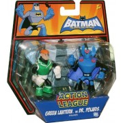 DC Batman Brave and the Bold Action League Mini Figure 2Pack Green Lantern vs. Dr. Polaris
