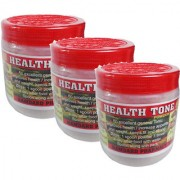 Health tone weight gain powder gurantee result in a week Pack Of 3