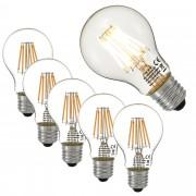 [lux.pro] 5 x LED 5 Watt E27 LED žarulja