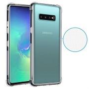 Schokbestendig Samsung Galaxy S10+ TPU Hoesje - Doorzichtig