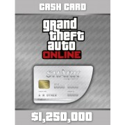 GRAND THEFT AUTO ONLINE: GREAT WHITE SHARK CASH CARD 1 250 000 - XBOX LIVE - MULTILANGUAGE - WORLDWIDE