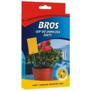 Hartie adeziva pentru ghivece cu flori 10 buc, BROS 384