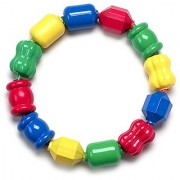Snap Lock Bead Shapes 12 Colorful Beads