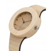 Analog Watch Silverheart & Maple / Hour Markings Watch UPS