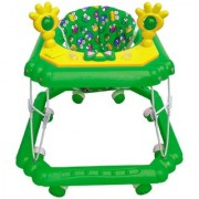 Oh Baby Baby Square Shape Pilastic Boby Green Color Music With Light Walker For Your Kids IUY-LKJ-SE-W-92