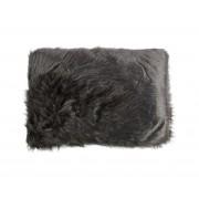 Imitatie schapenvacht kussen grijs 40x60 cm kussen grijs 40x60
