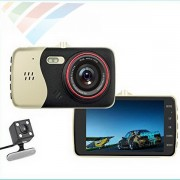 "Camera auto duala Novatek T810, NTK 96658, Display 4"" IPS, 12MP FullHD,"