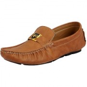 Fausto Brown Men's Loafers