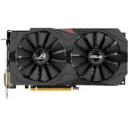 Placa Video Asus Radeon RX 570 Rog Strix OC, 8GB, GDDR5, 256 bit