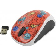 Logitech M238 Wireless Mouse Doodle Collection/Champion Coral 910-005054