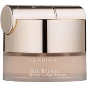 Clarins Face Make-Up Skin Illusion Грим на прах с четка цвят 107 Beige 13 гр.