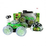 OH BABY MUSICAL POWER WITH Remote Controlled GREEN COLOR BAN 10 With CAR FOR YOUR KIDS SE-ET-31