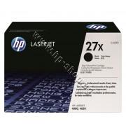Тонер HP 27X за 4000/4050 (10K), p/n C4127X - Оригинален HP консуматив - тонер касета
