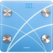 Cantar electronic de persoane cu Bluetooth Daewoo 180 kg Pornire automata Bluetooth 4.0 Display LED Blue