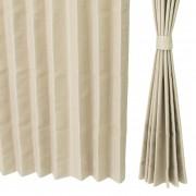 熱と光を遮るドレープカーテン高級仕立100cm2枚組【QVC】40代・50代レディースファッション