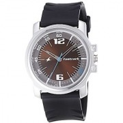 Fastrack Economy Analog Brown Dial Mens Watch - 3039Sp02