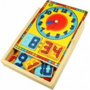 Jucarie educativa Big Jigs Clock Box