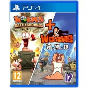 Worms Battlegrounds + Worms WMD Double-Pack - PS4