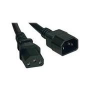 Tripp Lite 15ft Computer Power Cord Extension Cable C14 to C13 10A 18AWG 15' - rallonge de câble d'alimentation - 4.57 m