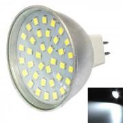 MR16 3W 300lm frio blanco 36-2835 SMD LED proyector (AC10-30V)