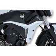 Yamaha MT07 Radiator Cheeks: Satin Grey E760294121