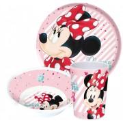 Disney Minnie melamin étkészlet