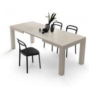 Mobili Fiver Mesa de cocina extensible, modelo Iacopo, color Olmo Claro