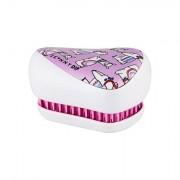 Tangle Teezer Compact Styler kompaktní kartáč na vlasy pro snadné rozčesání 1 ks odstín Skinnydip Lovely Llama pro děti