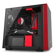 Skrinka NZXT H200i čierno-červená