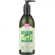 Avalon Organics Hand and Body Lotion - Cucumber - Gluten Free - 12 oz - 1 each