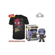 Thanos Y Playera De Iron Spider Funko Pop Avengers Infinity