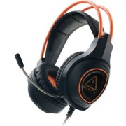 Casti Gaming Canyon CND-SGHS7, 7.1 Surround, Microfon (Negru/Portocaliu)