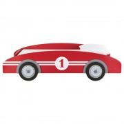 Maisons du Monde Letto a macchinina rosso in legno per bambini 90 x 190 cm Circuit