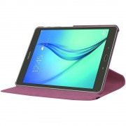 Purple 360 Degree Rotating Case For Samsung Galaxy Tab S2 9.7