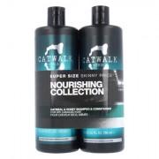 Tigi Catwalk Oatmeal & Honey confezione regalo shampoo 750 ml + balsamo 750 ml