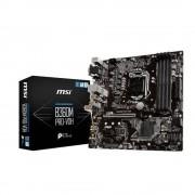 Placa Mae MSI INTEL B360M PRO-VDH 64GB (1151) DDR4 - 8A. GER - B360M PRO-VDH