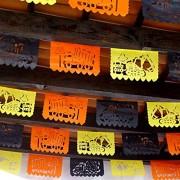 FIESTACONNECT Suministros para fiestas de cumpleaños de construcción, 5 unidades de banderines para camiones volcados para fiestas temáticas de construcción de niños, 50 paneles de más de 60 pies de largo, colores son naranja, negro y amarillo, decoracion