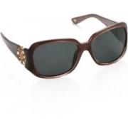 Polaroid Over-sized Sunglasses(Grey)