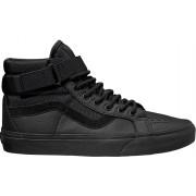 VANS Mens cizme pentru glezna UA SK8-Hi Reissue Strap Leather Ballistic/Black VA3QY2UB4 43
