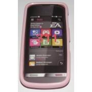 Силиконов гръб ТПУ за Nokia Asha 311 Розов