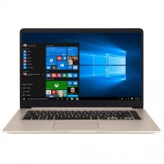 "Notebook Asus VivoBook S15 S510UA, 15.6"" Full HD, Intel Core i5-7200U, RAM 4GB, HDD 1TB, Endless, Auriu"