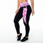 GraffitiBeasts JM- Dames inverse sportlegging - Multicolor - Size: Extra Large
