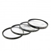 close up +1 / +2 / +4 / +10 filtros de lentes ajustados - negro (72mm / 4 PCS)