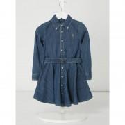 Polo Ralph Lauren Childrenswear Jeanskleid mit Taillengürtel