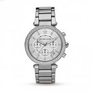 Michael Kors Watches Michael Kors klockor Mk5353 Parker damer Silver Chronograph Watch
