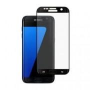 Folie Sticla BlueStar pentru Samsung Galaxy S7 Edge 3D Full Cover acopera tot ecranul Negru
