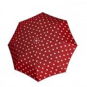 Knirps T-010 Small Manual Paraplu dot art red (Storm) Paraplu